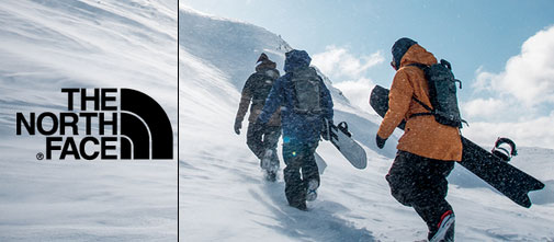 The North Face catalog