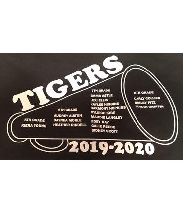 Tigers and megaphone